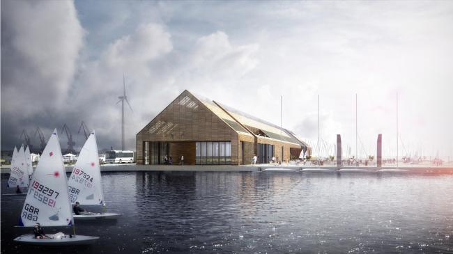 Новая приливная электростанция в Британии от LDA Design