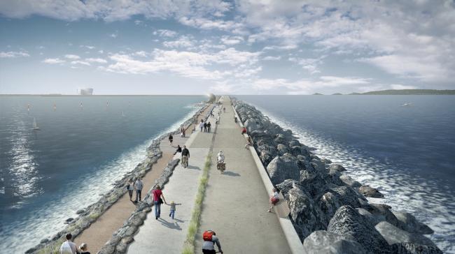 Приливная электростанция в заливе Суонси. Проект LDA Design