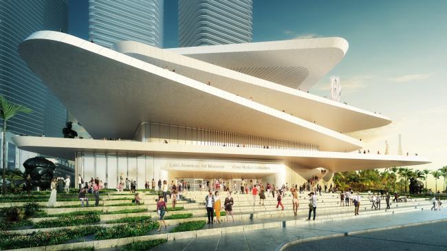 Музей латиноамериканского искусства в Майами. Проект FREE