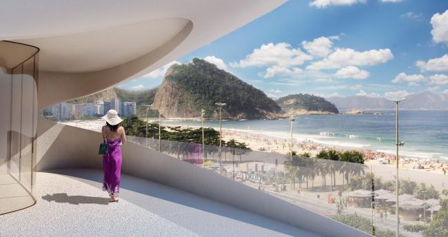 Жилой комплекс Casa Atlântica. Проект Захи Хадид