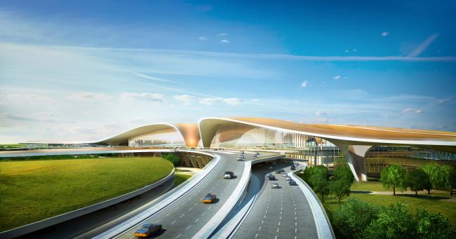 Новый аэропорт Пекина. Проект Захи Хадид