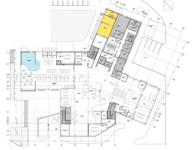 Корпус Lassonde Studios Института предпринимательства Лассонда от Yazdani Studio в Солт-Лейк-Сити