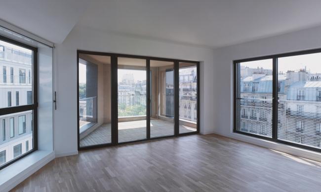 Жилой комплекс в Париже. Проект LAN Architecture