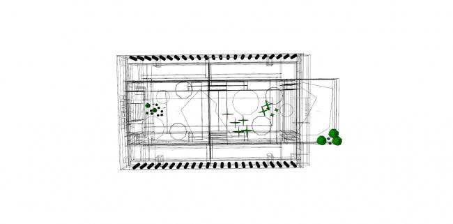 Разделение помещений здания по функциональному назначению и подходам к инженерному обеспечению © Инженерное бюро Engex