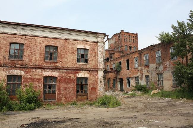 В Серпухове сносят уникальный памятник промышленной архитектуры – Ситценабивную фабрику Коншина