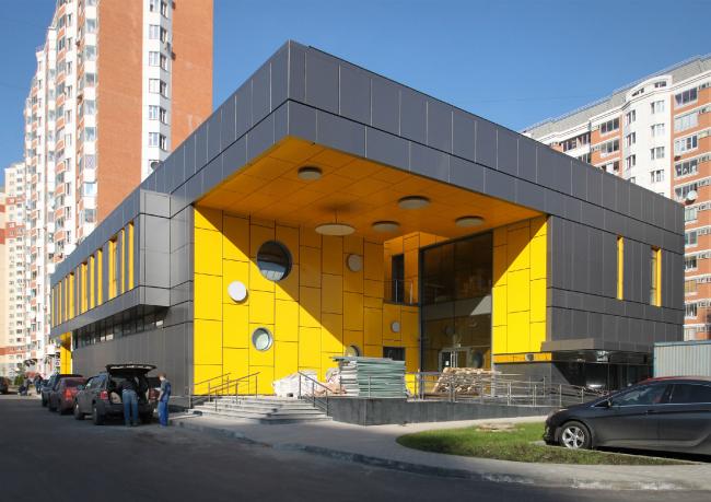 Магазины шаговой доступности «Стереопара». Здание № 69 © Архитектурное бюро «Богачкин и Богачкин»
