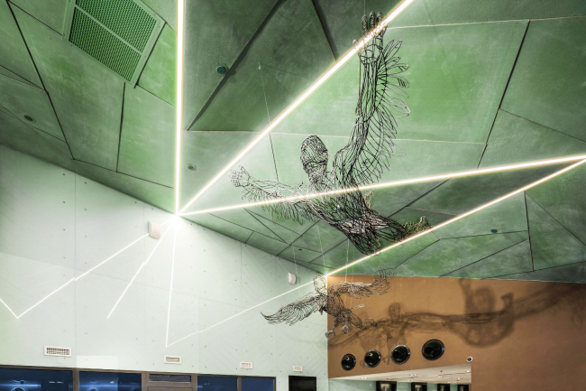 Входная группа многофункционального комплекса «Савеловский Сити». Первая башня. Реализация, 2014 © Т+Т Architects