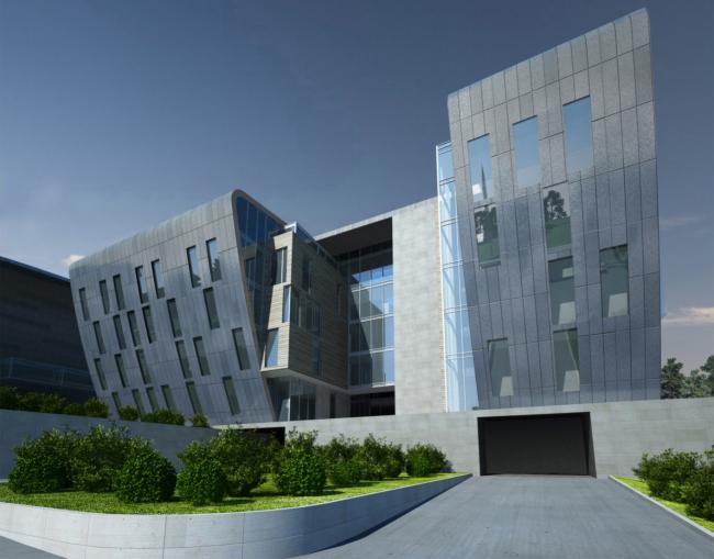 Учебно-тренировочная база футбольного клуба «Зенит» © Архитектурное бюро «А.Лен»