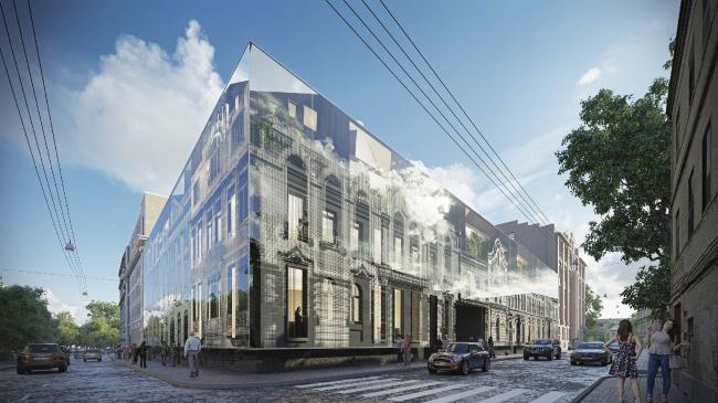 «Архитектурный спиритизм». Проект реновации имущественного комплекса © Arch Group