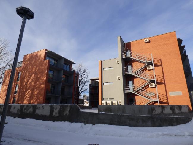 Апарт-отель «Величъ». 1 и 2 корпуса © Архитектурная  мастерская Грошева Юрия