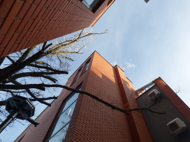 Апарт-отель «Величъ». 1 и 3 корпуса © Архитектурная  мастерская Грошева Юрия
