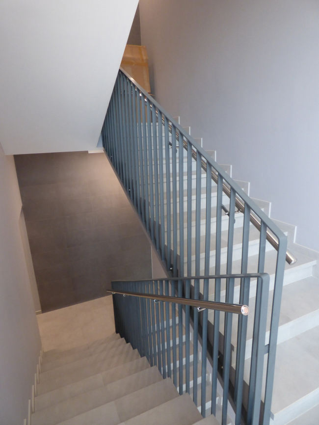 Апарт-отель «Величъ». Лестница © Архитектурная  мастерская Грошева Юрия
