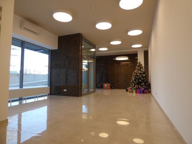 Апарт-отель «Величъ». Вестибюль © Архитектурная  мастерская Грошева Юрия