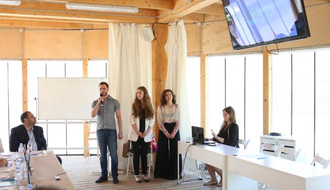 Авторы проекта «Симоновские холмы». Фотография предоставлена организаторами конкурса