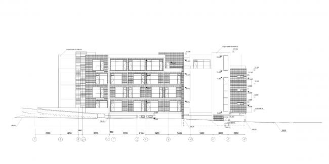 Апарт-отель «Величъ». Фасад © Архитектурная  мастерская Грошева Юрия
