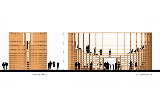 Многофункциональное пространство Государственного Исторического Музея «Форум». Фасад © Citizenstudio