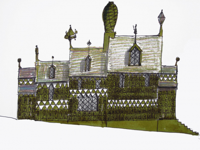 Вилла «Дом для Эссекса» © FAT Architecture & Grayson Perry