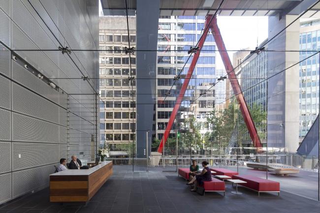 Бизнес-центр 8 Chifley Square © Brett Boardman