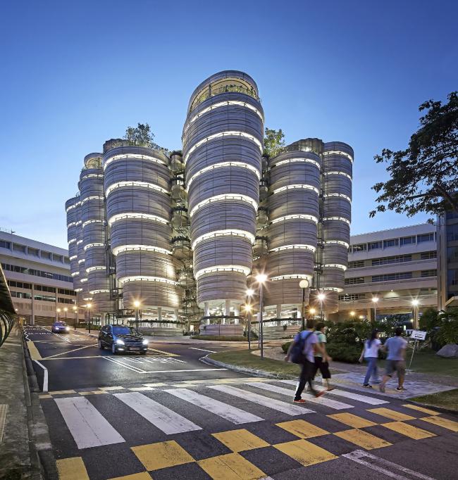 Учебный центр Наньянского технологического университета © Hufton & Crow