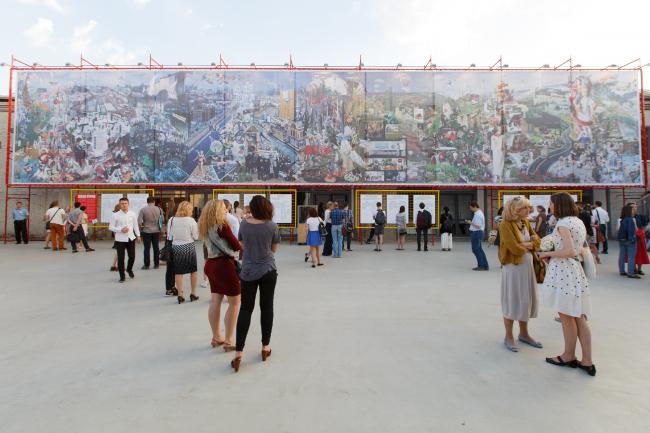 Выставка «Большое будущее» © Иван Гущин / Институт медиа, архитектуры и дизайна «Стрелка»