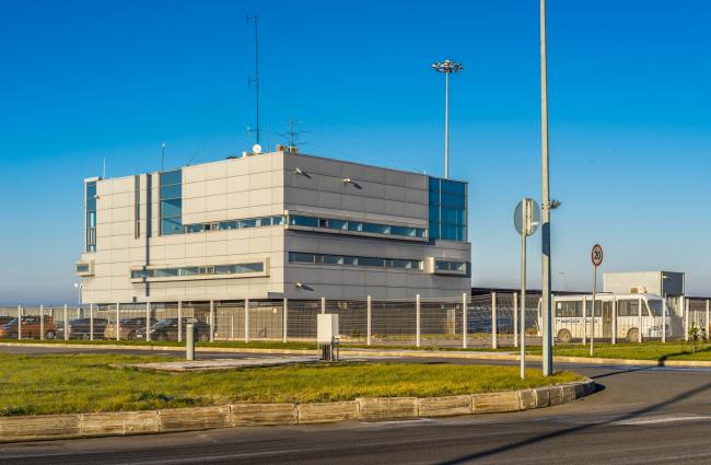 Морской пассажирский терминал. Диспетчерская © «А.Лен»