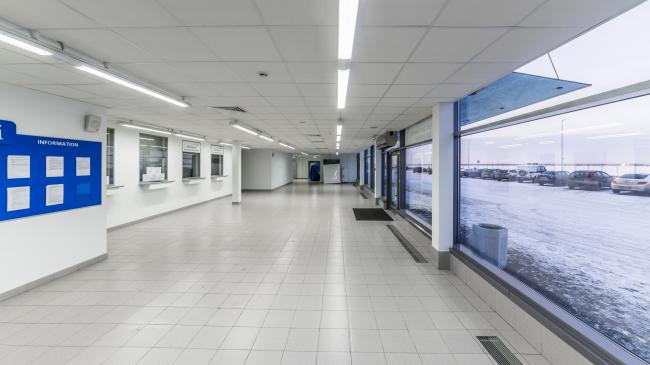 Морской пассажирский терминал. Здание таможни © «А.Лен»