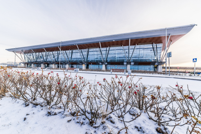 Морской пассажирский терминал. Вокзал №4 (круизный) © «А.Лен»
