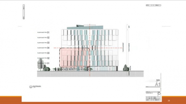 8-этажный жилой дом © TDA