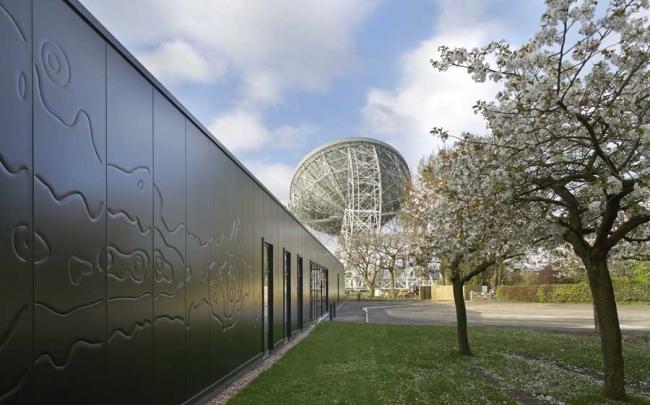 Центр открытия науки обсерватории Джодрелл-Бэнк © Hufton & Crow