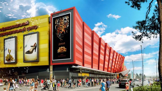 Торгово-развлекательный центр «Солнечный» © Portner Architects