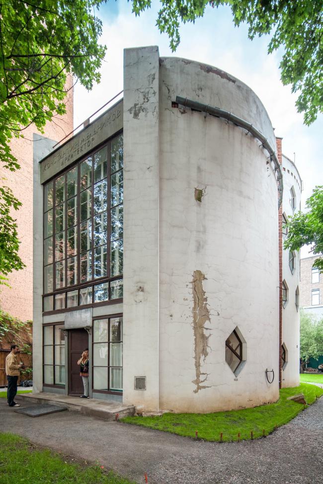 Константин Мельников. Собственный дом в Кривоарбатском переулке © Денис Есаков