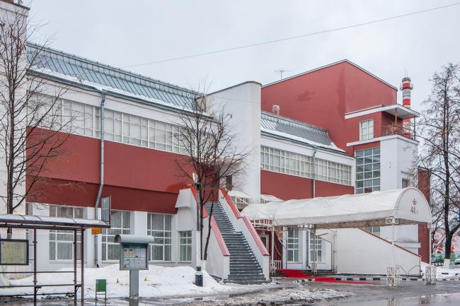 Константин Мельников. Клуб фабрики «Свобода» © Денис Есаков