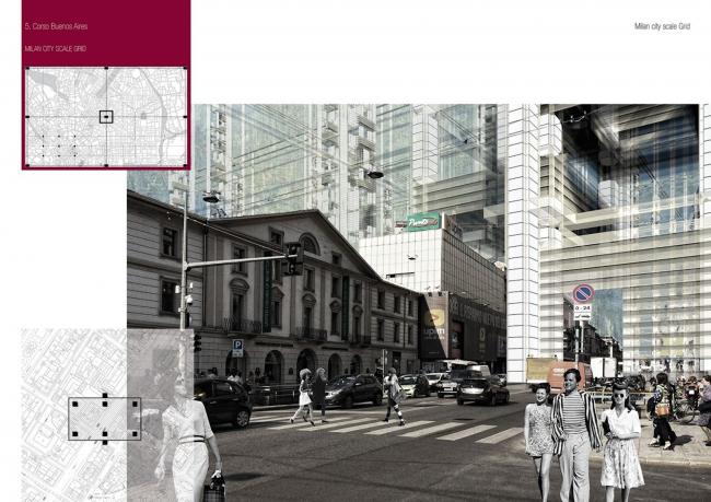 Матрица. Новый подход к видению городов. Автор: Павел Бартов. Студенческий проект. Изображение предоставлено оргкомитетом фестиваля