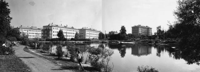 Фили-Мазилово. Фото 1963 г. из архива Института модернизма
