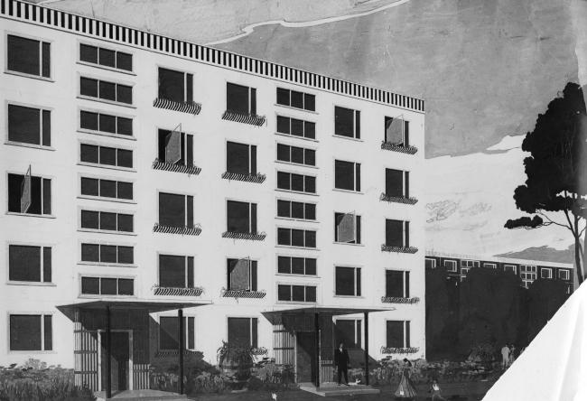 Проект «Дом из пластмасс». Изображение из архива Института модернизма