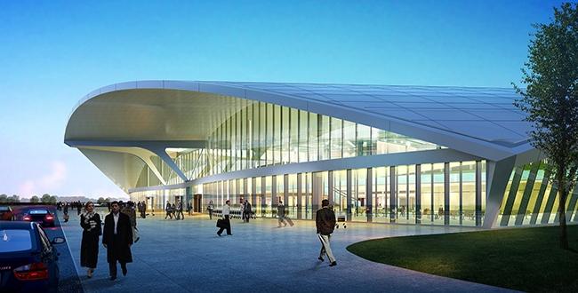 Международный аэропорт Курумоч. © Hintan Associates