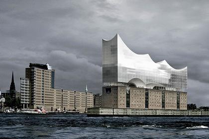 Концертный зал Elbphilarmonie © Herzog & de Meuron 2004
