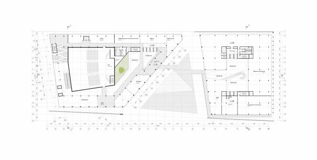 Штаб-квартира Олимпийского Комитета России. План 2 этажа © TПО «Резерв»