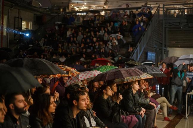 Лекция Хани Рашида в Институте «Стрелка» © Alex Nedorez / Strelka Institute