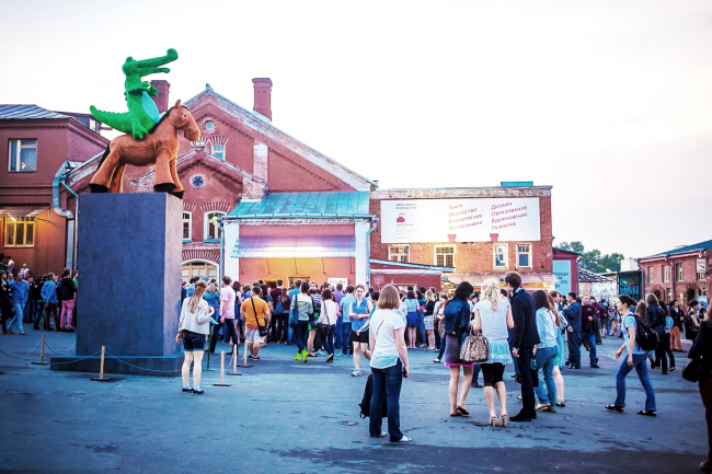 «Винзавод» в Москве. Предоставлено оргкомитетом фестиваля «Зодчество»
