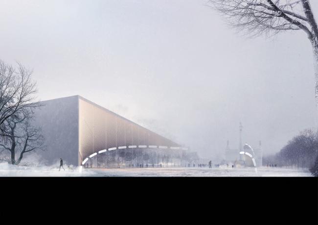 Павильон «Росатома» на ВДНХ. Поиск образов © UNK project