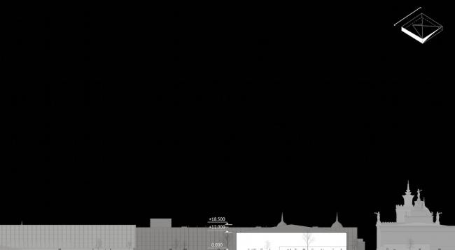 Павильон «Росатома» на ВДНХ. Юго-западный фасад © UNK project