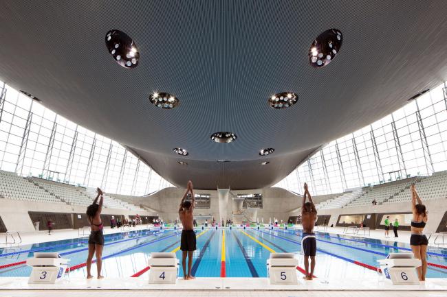 Олимпийский центр водных видов спорта в Лондоне. 2011 © Luke Hayes