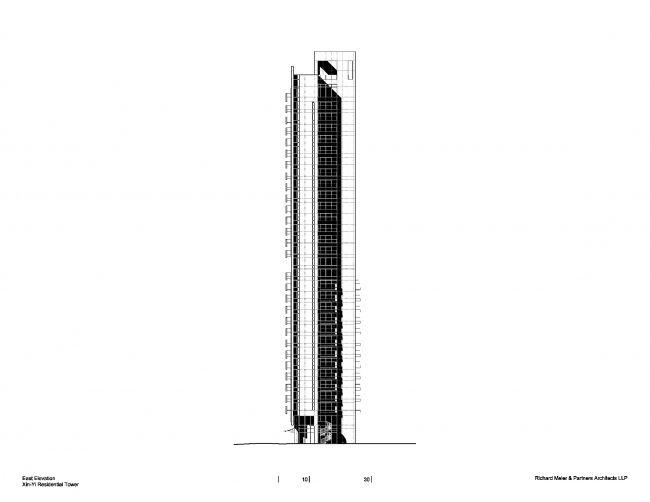Жилая башня 55 Timeless © Richard Meier & Partners Architects