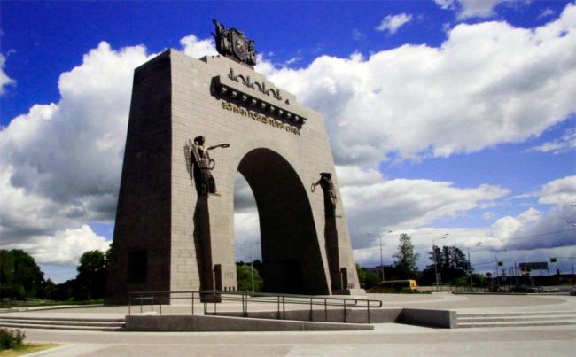 «Архитектон» присудили Арке Победы в Красном селе