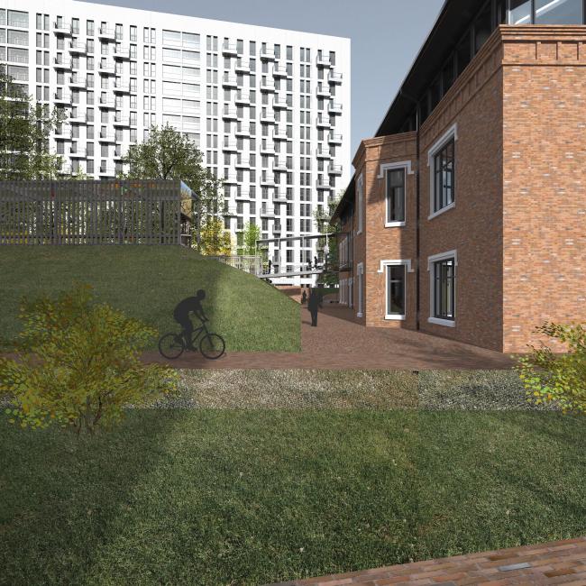 Проект многофункционального жилого комплекса на Павелецкой набережной © Архитектурное бюро Сергея Скуратова