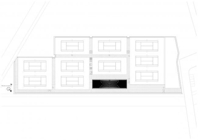 Теннисный клуб The Couch © MVRDV