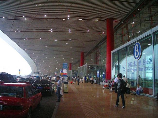 Международный Аэропорт Пекина - Терминал 3. Фото: 夢の散歩 - 夢の散歩 via Wikimedia Commons. Лицензия GNU Free Documentation License