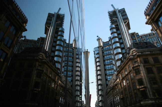 Здание Ллойд в Лондоне. Ричард Роджерс, 1978-1986. Фотография © Сергей Эстрин