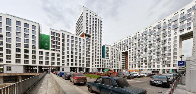 Жилой комплекс «Акварели» © АБ «Остоженка»